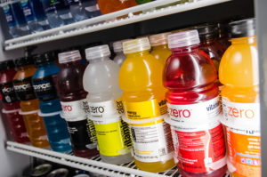 Micro-market drink section in Greenville, Spartanburg, and Anderson, South Carolina