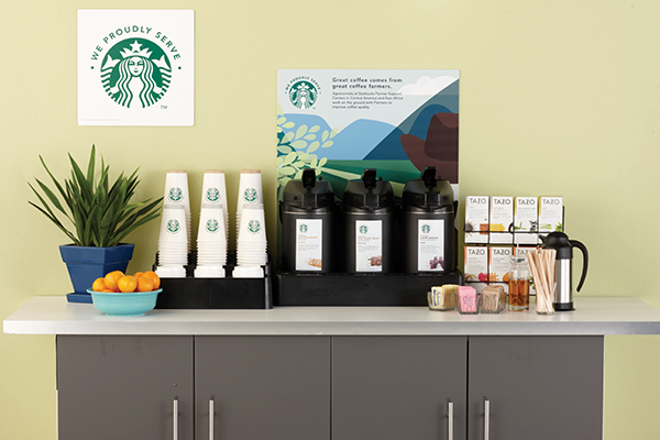 Starbucks coffee brewers in Greenville, Spartanburg, and Anderson, South Carolina